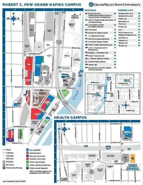 grand valley state university campus map Symposium College Of Community And Public Service Grand Valley grand valley state university campus map